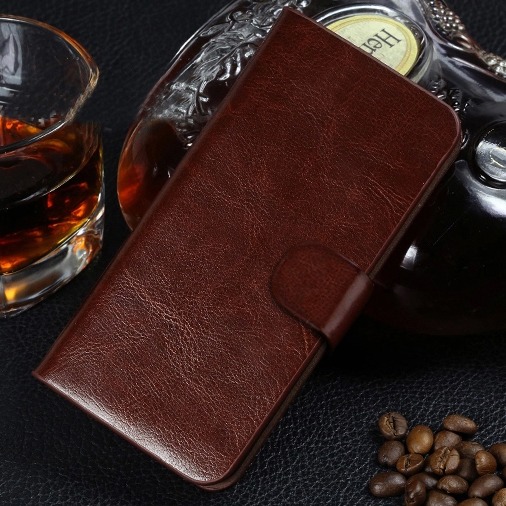 New Luxury Wallet Flip PU Leather Cell Phone Cover Case For HTC Desire 610 Case Cover Shell Back Cover With Card Holder pouch