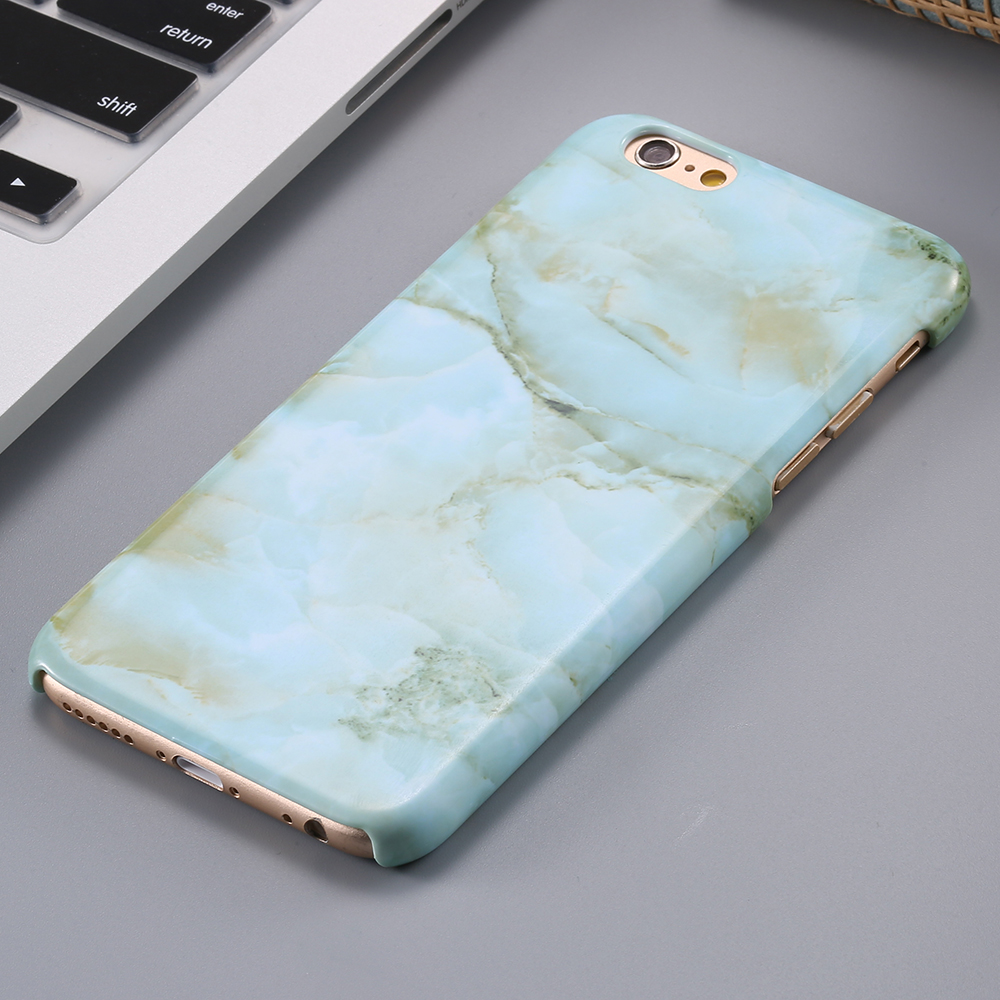 Super Thin Hard Protective Case For iPhone 6 Plus 5.5'' Marble Art Print Pattern Skin Cover For iPhone 6S Plus Thermal Transfer(China (Mainland))