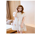 2016 New Summer Maternity One piece Casual Dress pregnancy Clothing Print Floral Clothes Maternity Dress for