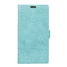 Buy Cover Doogee Shoot 1 Phone Cases Crocodile Texture Leather Wallet Stand Cellphone Cover Doogee Shoot 1 Shell Coque- Cyan for $6.07 in AliExpress store