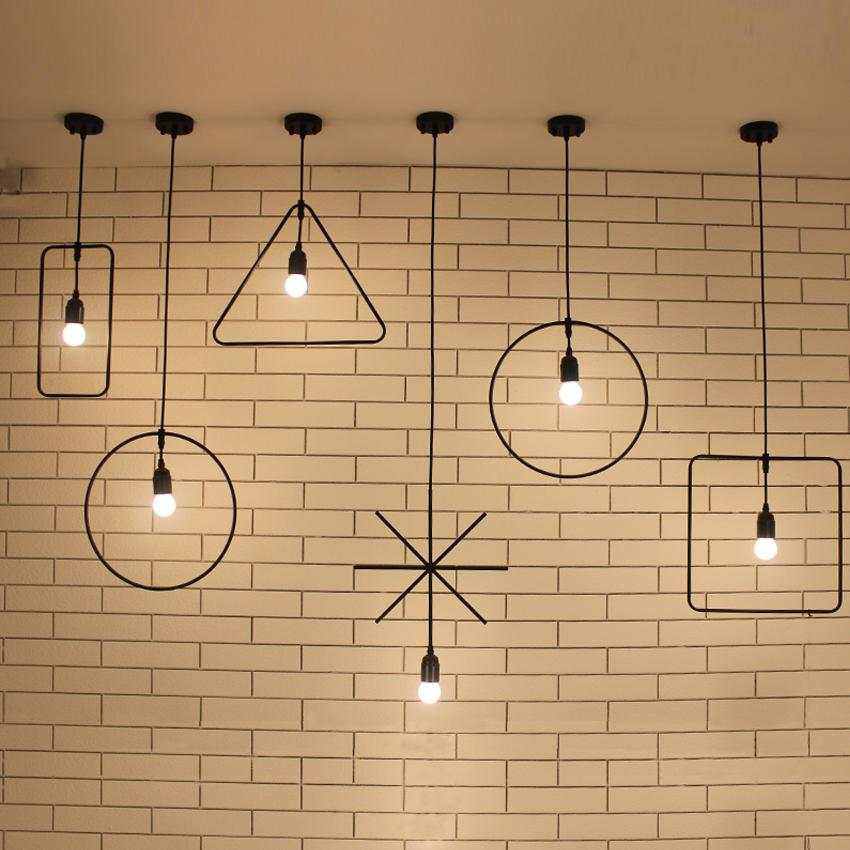 Free shipping Light bulb pendant light  110V or 220V Edison bulb coffee bar lighting vintage lamps Metal pendant lights<br><br>Aliexpress