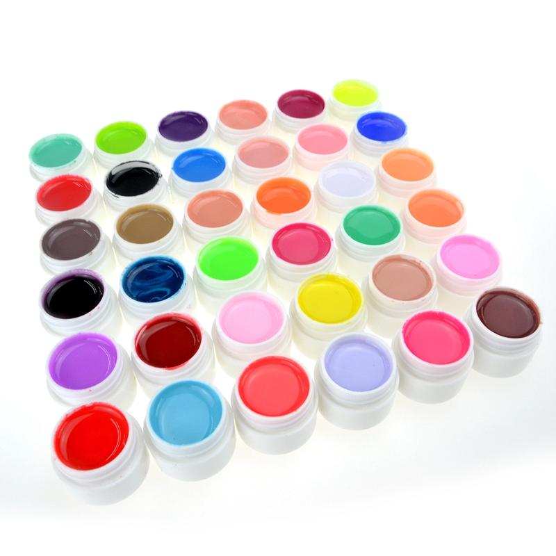 Elite99 1pcs Pure Colors UV Gel Nail Art Tips Shiny Cover Extension Manicure Decor Professional Nail Art Decor Manicure DIY(China (Mainland))