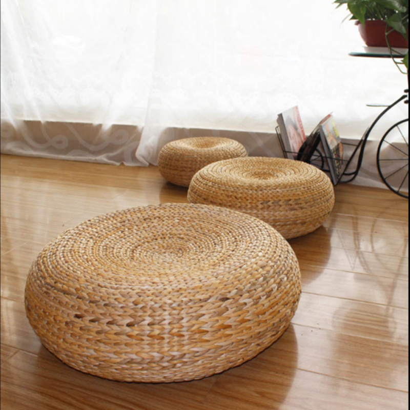50*20cm Yoga mat,meditation cushions rattan ottoman stool Traditional natural rattan stool sofa,rattan furniture,wicker stools(China (Mainland))