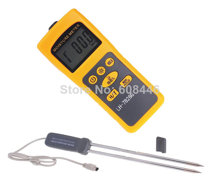 professional Hot Specialized grain moisture meter temper ature FOR Corn Paddy Wheat 16 kinds Hot<br><br>Aliexpress