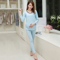 Top Sale Pregnant Women Nursing Sleepwear Set Spring Autumn Comfy Cottom Breast Feeding Pajamas Suits Breastfeeding