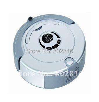 Free Shipping For Russian Buyer 2200 MAH Battery Robot Vacuum Cleaner XR210 +Mopping Function +UV lights+ Auto Recharged
