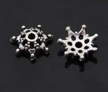 50Pcs Tori Beads Retro Tibetan Bronze Alloy Spacer Loose Jewelry Accessories