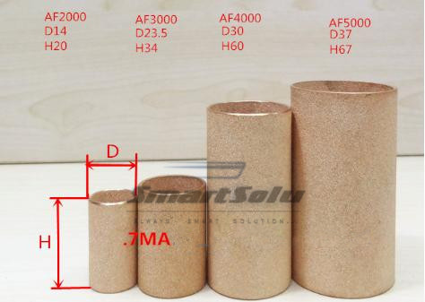 free shipping 5pcs/lots brass filter accessory for AF4000 AW4000 AC4010 AC4000-04, Copper filter(China (Mainland))