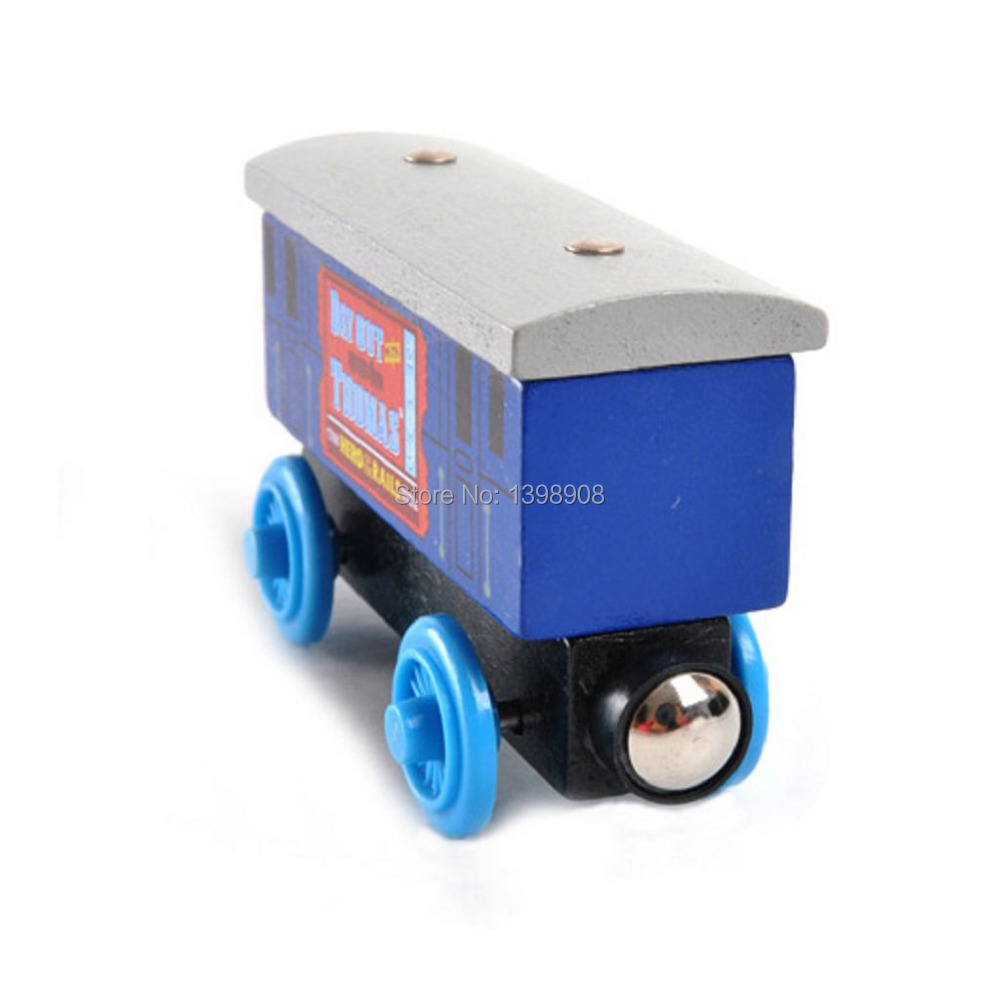 Free Shipping Toy train Wooden THOMAS and friends Car- Passenger Car lovely Children's toys Children's favorite Christmas gifts(China (Mainland))