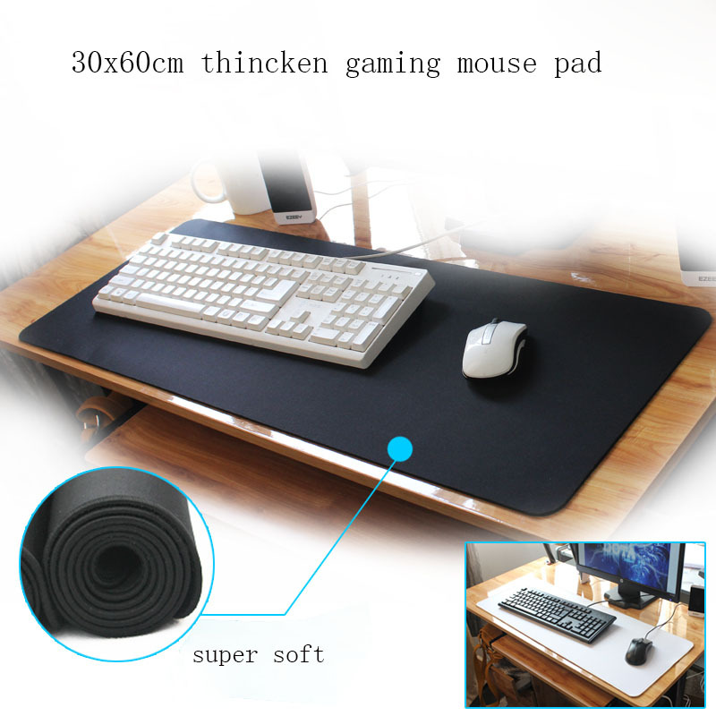 New Thicken Extra Large Dedicated Gaming Mouse Pad 30x60cm