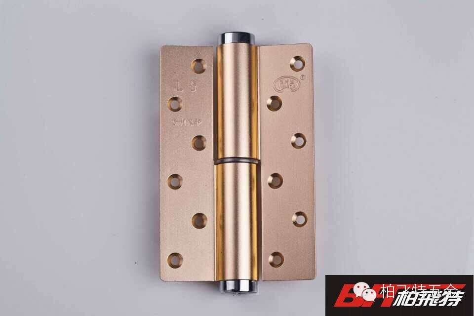 Rose gold hidden door flag H shape hinge hydraulic buffer positioning speed adjustable dynamics closers special offer(China (Mainland))