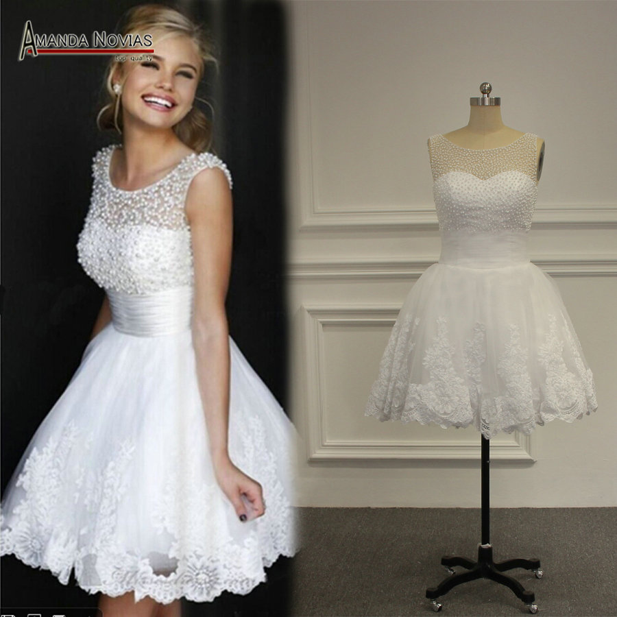 Aliexpresscom buy new model sleeveless lace appliques for Robe romantique dentelle