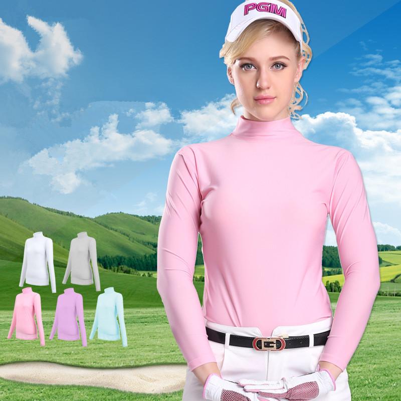 sunscreen summer autumn women 39 s golf shirt polo femmel long sleeve high stretch golf shirts. Black Bedroom Furniture Sets. Home Design Ideas