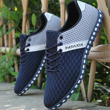Promotion! Men Casual Shoes Breathable Mesh Shoes Lightweight mens chaussure basket homme Zapatos hombre thin sole shoes XX174