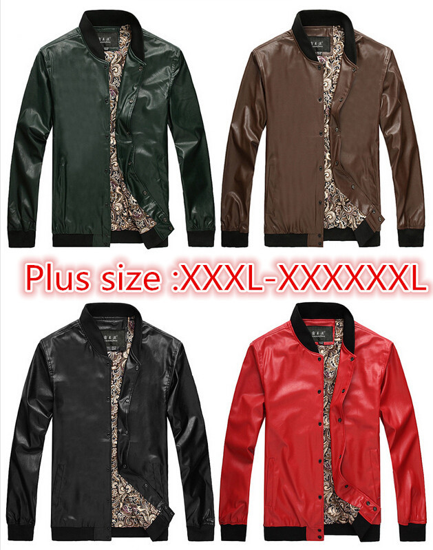2015 new style men genuine leather jackets mens motorcycle jackets mens jackets and coats leather winter plus size XXXL-XXXXXXLОдежда и ак�е��уары<br><br><br>Aliexpress