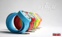 Los niños y adolescentes diversión par relojes cuando el volumen Shu aparece reloj del anillo de los niños ven auténticos niños diversión par