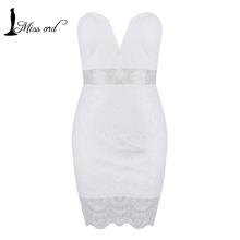 Free Shipping Fashion 2014 Deep V lace dress stitching Party dress FT1377