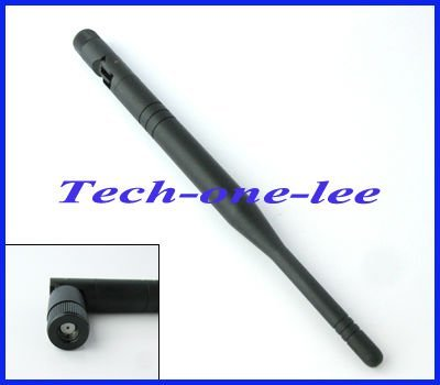 2.4GHz 6dBi  RP-SMA connector Omni WIFI Antenna for wireless router/wireless LANs free shipping