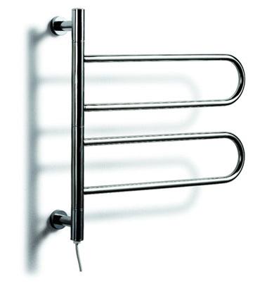 Supernova Sale Heated Towel Rail ,Stainless Steel Electric Wall Mounted Towel Warmer&Riwa Dryer,Bathroom Accessories Towel Racks(China (Mainland))