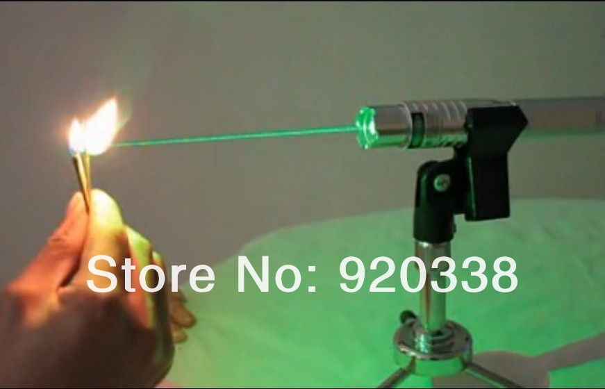 Strong power military green laser pointer 100w 100000mw 532nm burning match/dry wood/candle/black/cigarettes+charger+glasses+box(China (Mainland))
