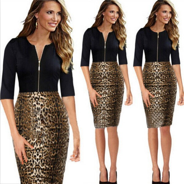 Женское платье Women work wear 2015 Bodycon Vestido Bodycon Dresses