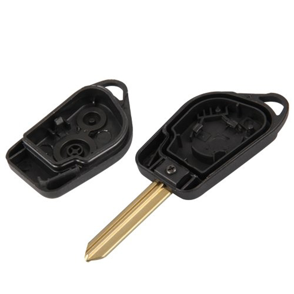 2015 Hot Entry Key Remote Fob Shell Case 2 Button for Citroen Saxo(China (Mainland))