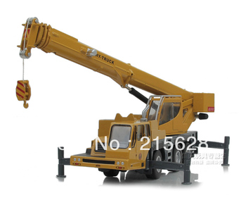 Freeshipping high quality diecast work mini Alloy long arm crane engineering construction vehicle model kids toy truck car model