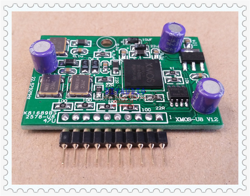 XMOS USB Assembled Module Support DSD128 I2S PCM 384k 32bit For DAC