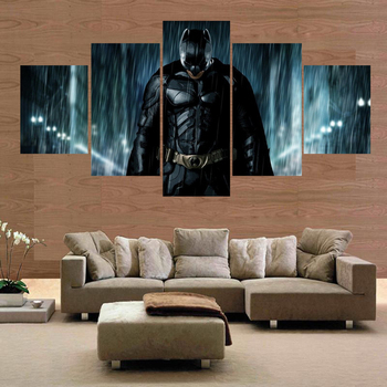 Batman movie poster print picture on canvas no frame painting home decor wall art canvas painting