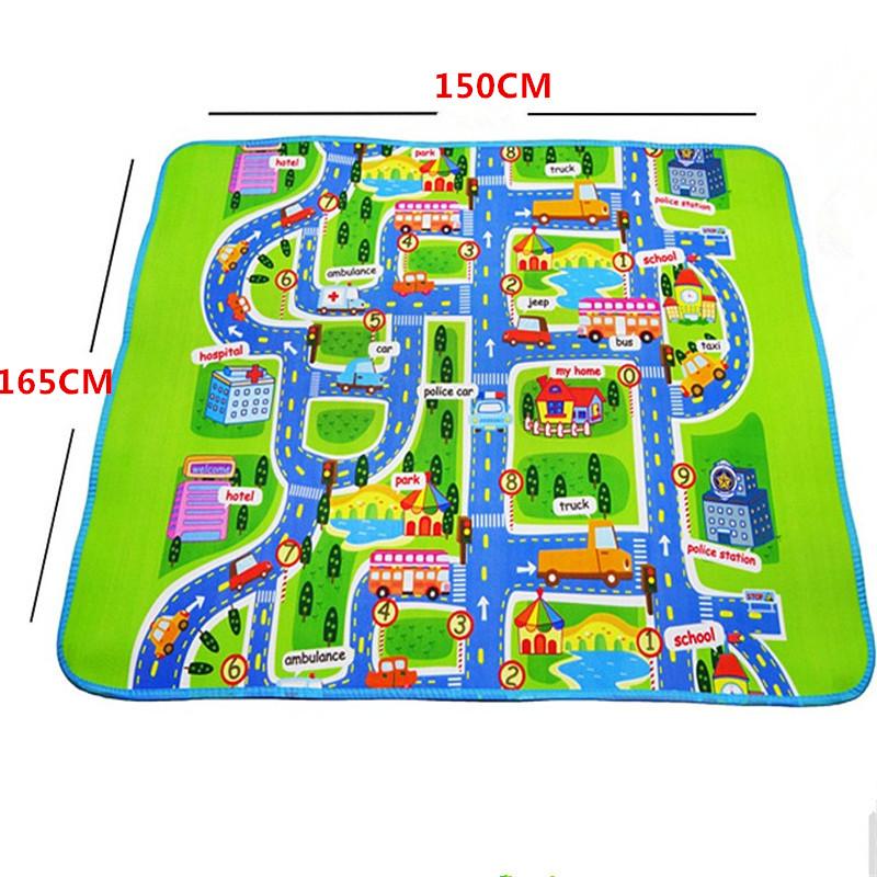 sale new 165X150X0.5CM Blanket Toys For Kids Baby Play Mats toys children developing carpet rug toys carpet Carpet Foam Mats<br><br>Aliexpress
