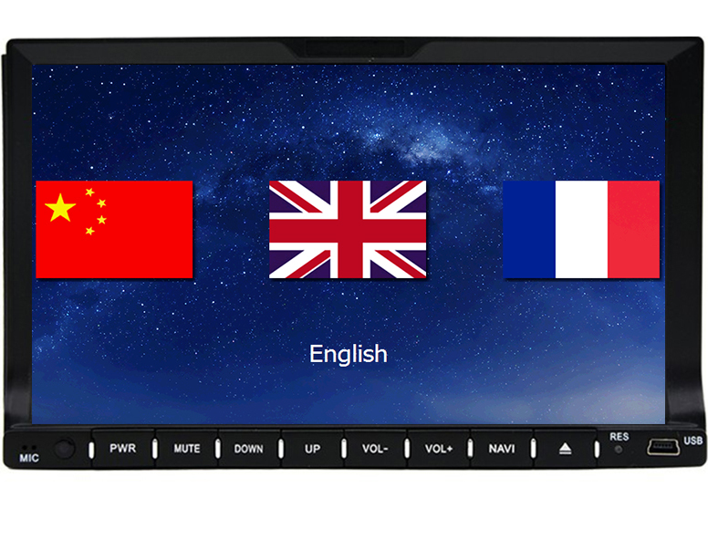 In-dash Bluetooth GPS Navigation Car DVD CD MP3 player vw/toyota Universal 2 din Car PC Stereo Radio TV USB SD Android optional(China (Mainland))