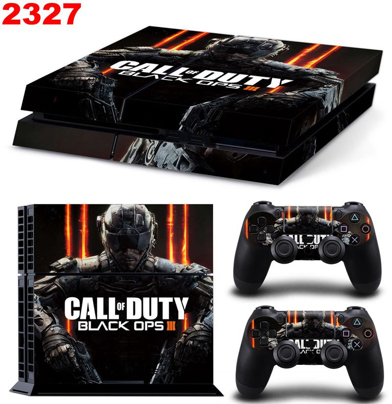 Гаджет  Call of Duty Black Ops 3 New Vinyl Skins Sticker for Sony PS4 PlayStation 4 and 2 Controllers Skins Cover None Бытовая электроника