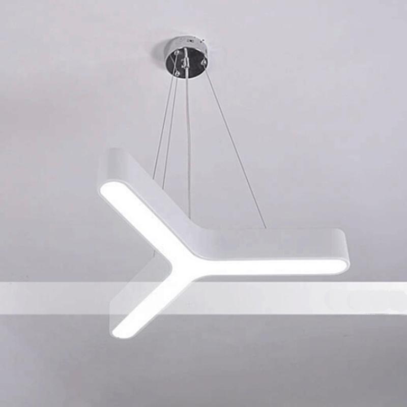moderne led h ngeleuchte dreieck gef hrt pendelleuchte f r esszimmer schlafzimmer b. Black Bedroom Furniture Sets. Home Design Ideas