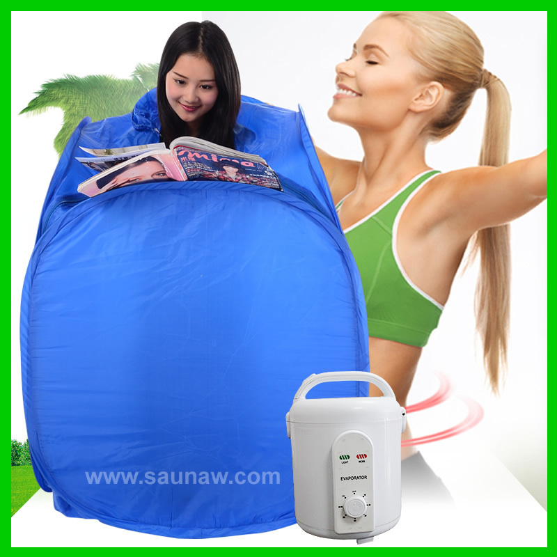 Portable steam sauna, stress relief, overal health conditioning ...