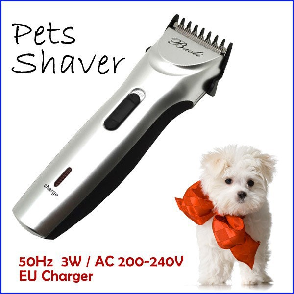 Professional High Quality 3W Rechargeable Electric Pet Dog Hair Clipper Trimmer Shaver for Pets Grooming pet shaver Product(China (Mainland))