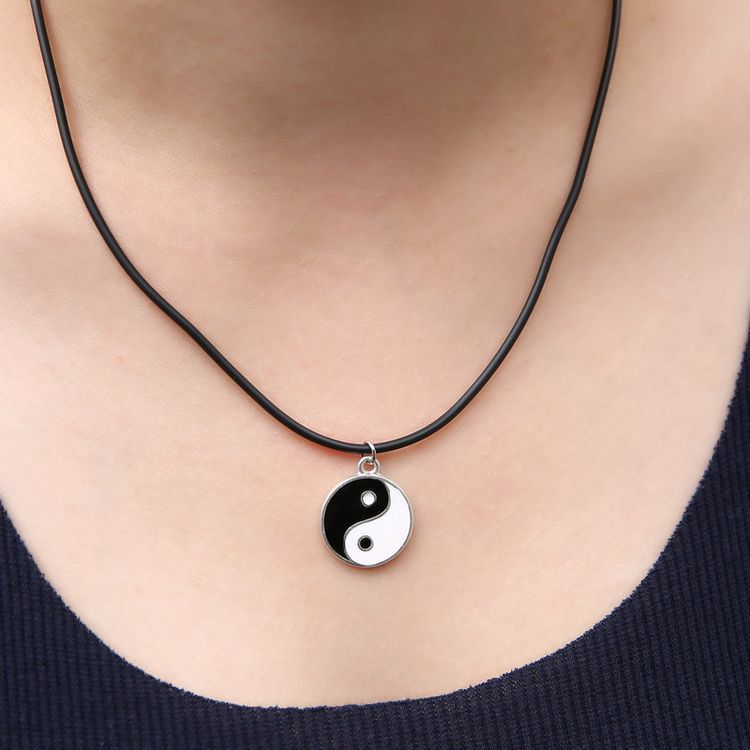 2015 Fashion Hot Cheap Anchors Tatto Tree Peace Love Hand Star Elephant Bird Black Rope Chain Necklace For Women(China (Mainland))