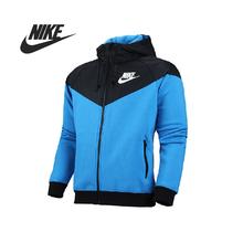 Original Nike AS NIKE WINDRUNNER-FLEECE MX men's jacket 614517-463 Hoodie sportswear free shipping