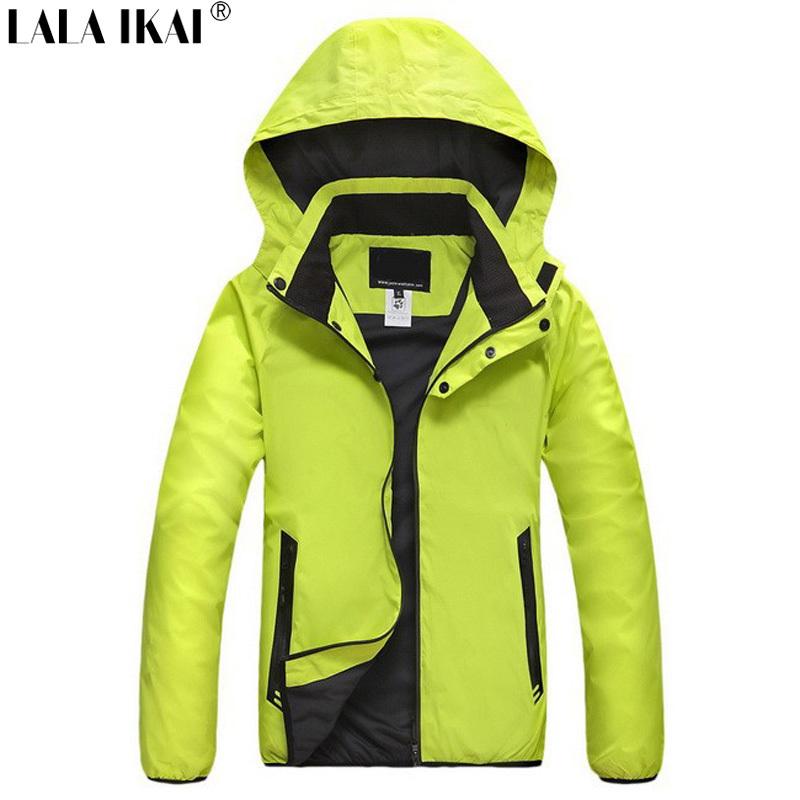 IKAI Spring Brand Women'S Climbing Hiking Jackets Outdoor Sportwear Waterproof Windstopper Women Casual Sports Coat HWA0010-5