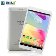 Планшетный ПК Irulu eXpro X1s 8  800* 280 IPS четырехъядерный процессор Android 5.1 планшет wi-fi 1 ГБ / 16 ГБ двойная камера скачать разьем micro-hdmi