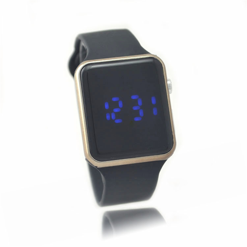 Fashion colorful 30M Waterproof LED backlighting student Men electronic watch 2015 hot sale