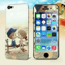 Sweet kiss Luxury Sticker for Iphone 5 5S SE Screen Protector iphone5 iphone5s iphoneSE smart phones cover film