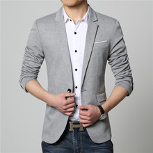 2015 Summer Style Luxury Business Casual Suit Men Blazers Set Professional Formal Wedding Dress Beautiful Design Plus Size M-6XL(China (Mainland))