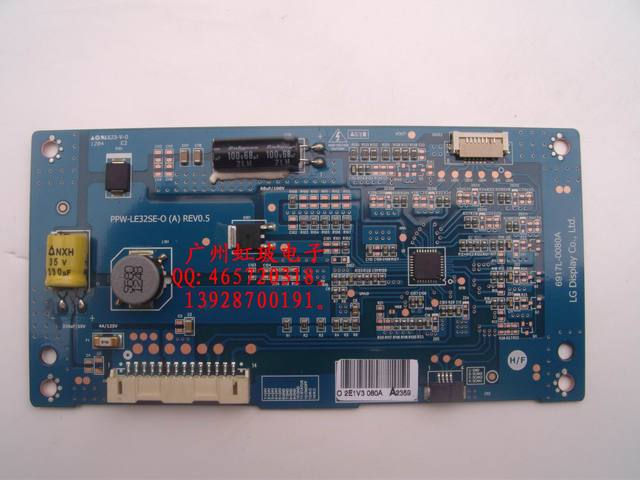 Original : ppw-le32se-o a rev0.5 led tv driver board 6917L-0080A