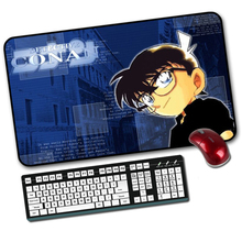 Buy Professional large anime Conan Gaming Mouse Pad Locking Edge 600*350 Mause Mat Dota 2 cs go computer PC game gamer mousepad for $9.51 in AliExpress store