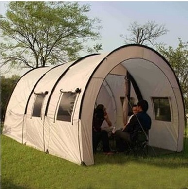 outdoor big tent two bedroom tent super large tunnel tent camping full