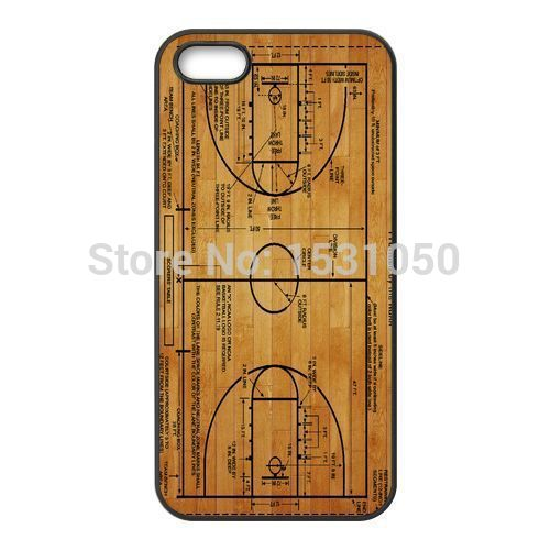 Basketball Court Diagram Cover Cases for iPhone 4s 5s 5c 6 6s Plus iPod 4 5 6 Samsung Galaxy s2 s3 s4 s5 mini s6 s7 Note 2 3 4 5(China (Mainland))