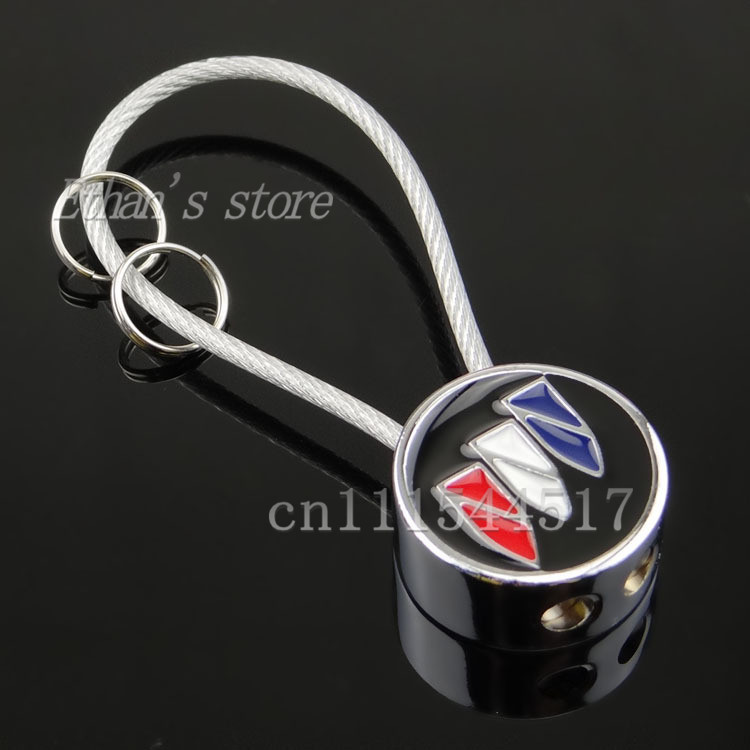 Free Shipping Men Buick Car Logo KeyChain auto mobile KeyRings car accessories(China (Mainland))