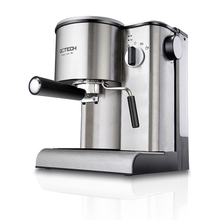 Free shipping Semi automatic steam pressure stainless steel casing of Italian household coffee machine(China (Mainland))