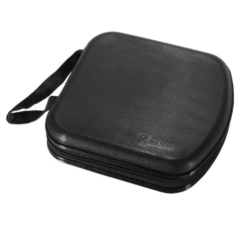40 Disc CD DVD VCD Storage Media Case Hard Box Wallet Carry Bag Free Shipping(China (Mainland))