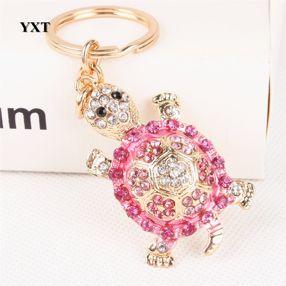 Tortoise Turtle Lovely Cute Crystal Rhinestone Charm Pendant Purse ...